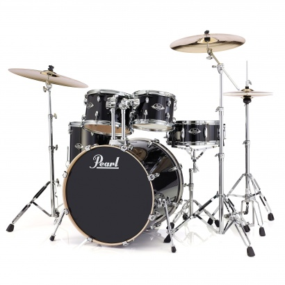 Pearl EXL725/C248 5-teiliges Shellset Export Lacquer Black Smoke