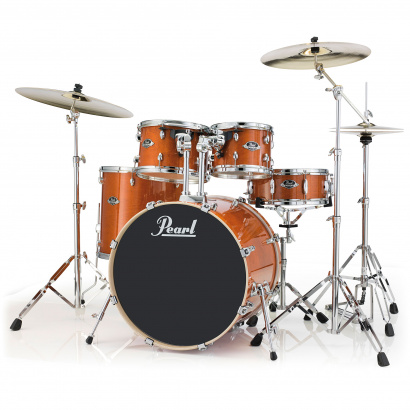Pearl EXL725F/C249 5-teiliges Shellset Export Lacquer Honey Amber