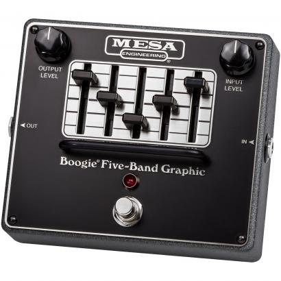 Mesa Boogie 'Boogie Five-Band Graphic' grafisches 5-Band Equalizer-Pedal