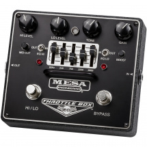Mesa Boogie 'Throttle Box EQ' Dual Distortion-Pedal mit 5-Band EQ