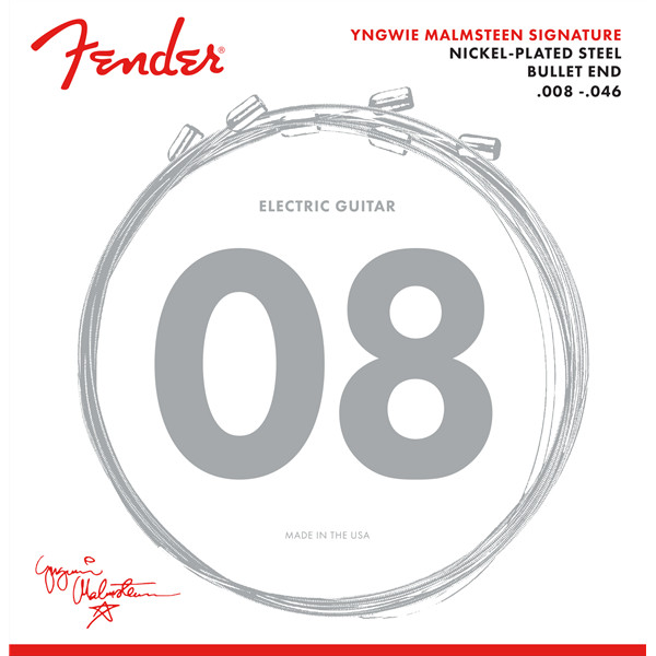Fender Yngwie Malmsteen Signature Electric Guitar Strings Saitensatz für E Gitarre