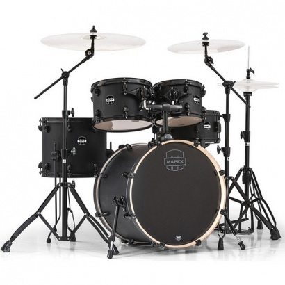 Mapex Mars MA504S-BZW 504 Fusion, 5-teiliges Schlagzeugset, Nightwood