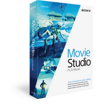 Sony Vegas Movie Studio 13 Platinum DL Video-Montagesoftware (zum Download)