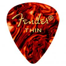 Fender 351 Classic Pick Pack Shell Thin (12-er Set Plektren)