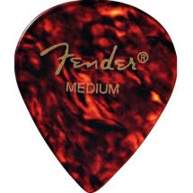 Fender 551 Classic Pick Pack Shell Thin Plektren (12-er Set)