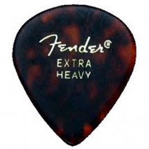 Fender 551 Classic Pick Pack Shell Extra Heavy Plektren (12-er Set)