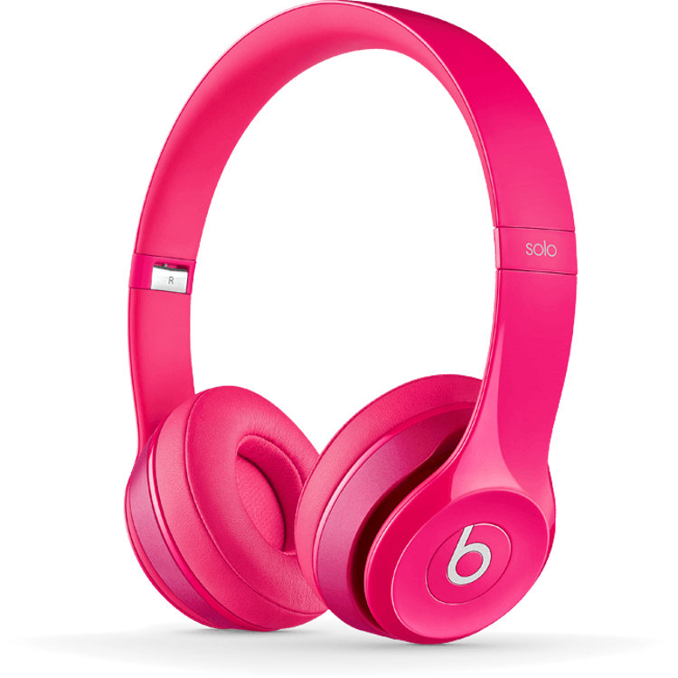 beats by dre solo2 pink kopfh rer kaufen bax shop. Black Bedroom Furniture Sets. Home Design Ideas