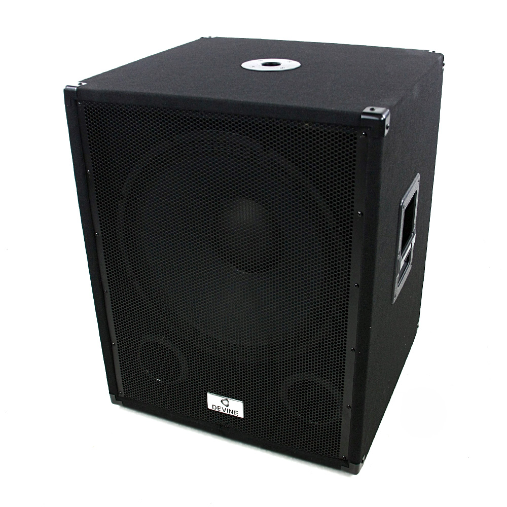 devine b118a mkii aktiver subwoofer mit 3 kanal verst rker. Black Bedroom Furniture Sets. Home Design Ideas