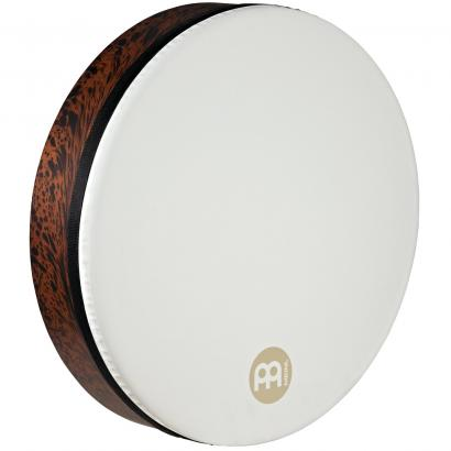 Meinl FD18T-D-TF True Feel Synthetic Tar 18 Zoll, Rahmentrommel, Brown Burl