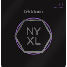 D'Addario NYXL1149 Nickel Wound Medium 11-49