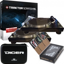 Pioneer 2x PLX-1000 + Traktor Scratch A6 + Novation Dicer