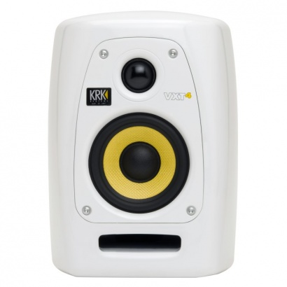 KRK VXT 4 Limited Edition White Studio Monitor