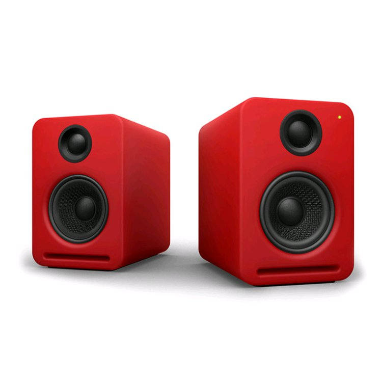 nocs ns2 air v2 pale red studio monitor mit spotify. Black Bedroom Furniture Sets. Home Design Ideas