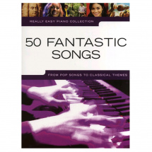 MusicSales Really Easy Piano 50 Fantastic Songs, Songbook (englischsprachig)