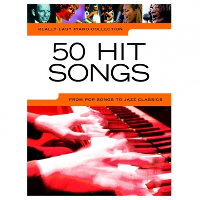 MusicSales Really Easy Piano 50 Hit Songs Songbook (englischsprachig)