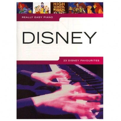 MusicSales Really Easy Piano Disney Songbook (englischsprachig)