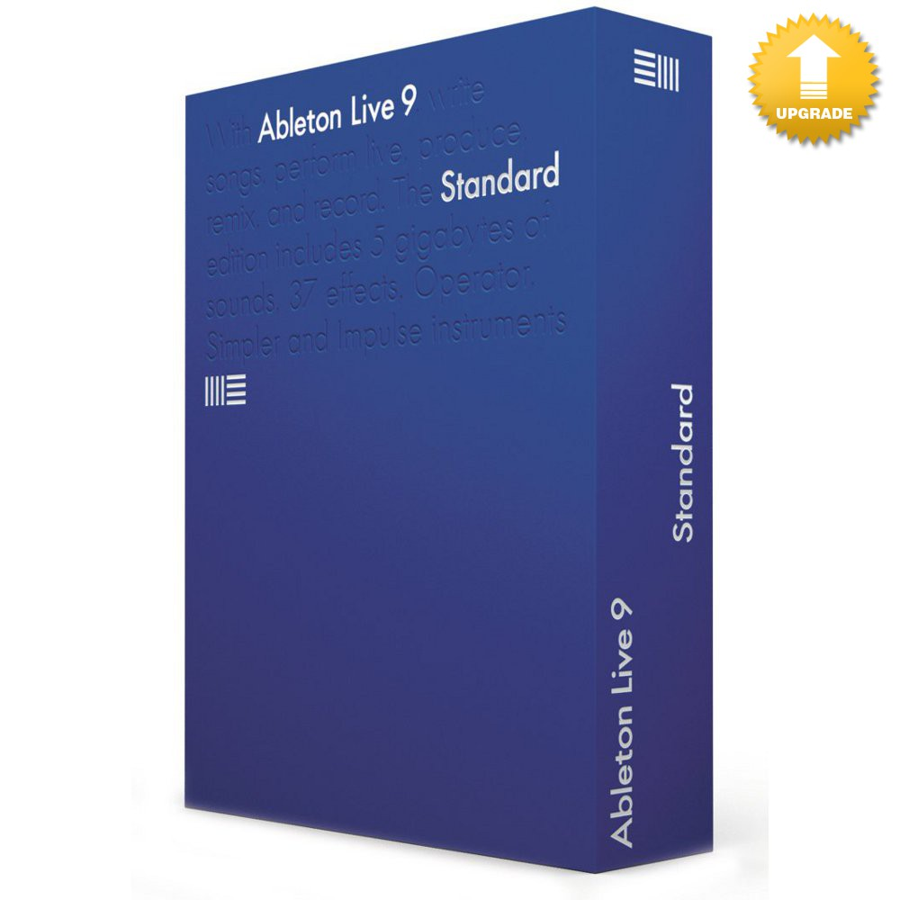ableton live 9 standard upgrade von live lite oem download kaufen bax shop. Black Bedroom Furniture Sets. Home Design Ideas
