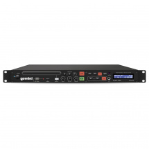 Gemini CDMP-1500 CD-/MP3-/USB-Player, einfach, 1 HE