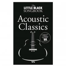 MusicSales The Little Black Songbook:  Acoustic Classics