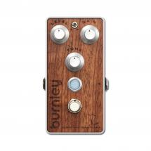 Bogner Burnley Bubinga Top Panel Distortion Gitarren-Effekt Pedal