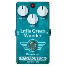 Mad Professor Little Green Wonder Overdrive Factory Effektpedal