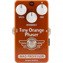 Mad Professor Tiny Orange Phaser Handwired Effektpedal