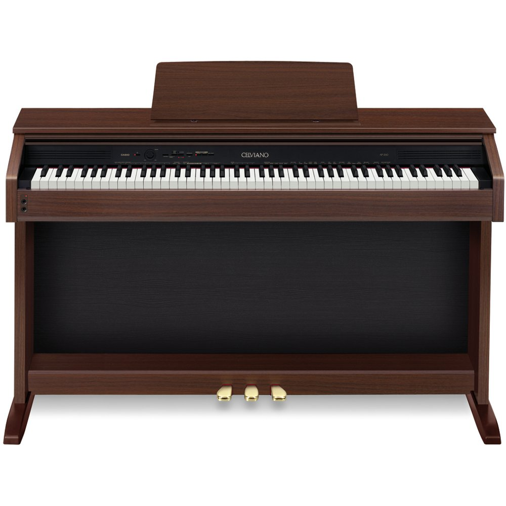 casio celviano ap 260bn e piano braun kaufen bax shop. Black Bedroom Furniture Sets. Home Design Ideas