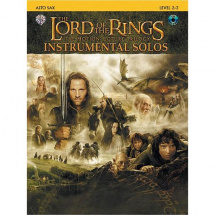 Alfreds Music Publishing - The Lord of the Rings Altsaxophon