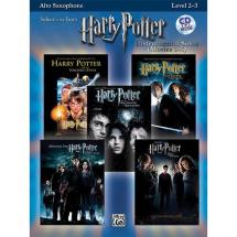 Alfreds Music Publishing - Harry Potter für Altsaxophon (englisch)