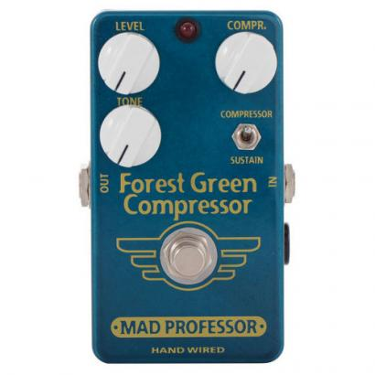 Mad Professor Forest Green Compressor Handwired Effektpedal