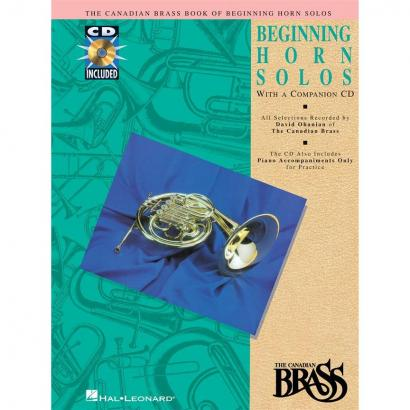 Hal Leonard - Canadian Brass Book Of Beginning Horn Solos (englisch)