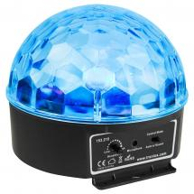 Beamz Mini Star Ball 6x 3 W LEDs RGBAW