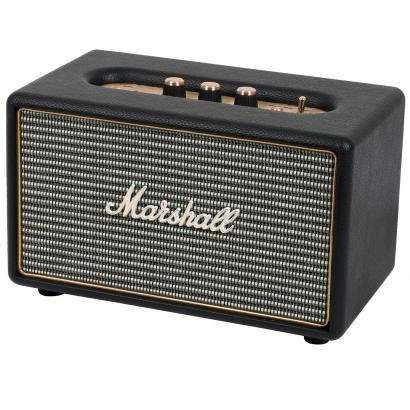 Marshall Lifestyle Acton Black Bluetooth-Lautsprecher, schwarz