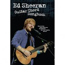 Wise Publications Ed Sheeran Guitar Chord Songbook
