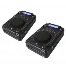 DAP 2 x CORE CDMP-750 (Set) Tabletop CD- & USB-Player