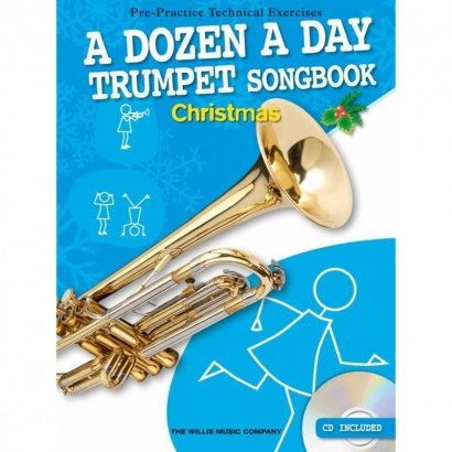 Willis Music - A Dozen A Day Songbook für Trompete: Christmas (englisch)