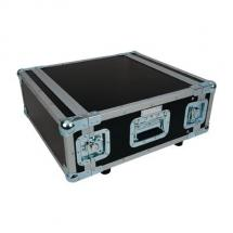 Accu-case 19 Zoll Tunnel-Flightcase, 4 HE