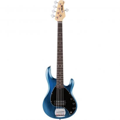 Sterling by Music Man SUB Ray5 Transparent Blue Satin