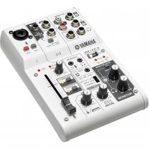 Yamaha AG03 Webcasting-Mixer & USB-Audiointerface