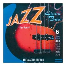 Thomastik-Infeld JF346 Jazz Flat Wound Long Scale 6-saitig