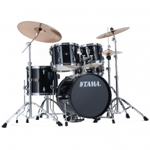 Tama IP58H6-HBK Imperialstar 5-teiliges Schlagzeug Hairline Black