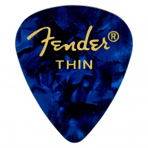Fender 351 Blue Moto thin Plektrum