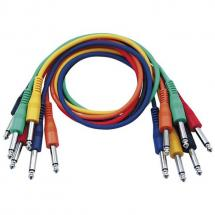 DAP FL11 coloured patch cables 60cm (6-pack)