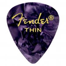Fender 351 Purple Moto Thin Plektrum