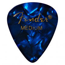 Fender 351 Blue Moto Medium Plektrum