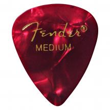 Fender 351 Red Moto Medium Plektrum