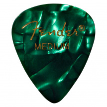 Fender 351 Green Moto Medium Plektrum
