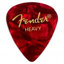 Fender 351 Red Moto Heavy Plektrum
