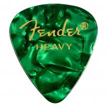 Fender 351 Green Moto Heavy Plektrum