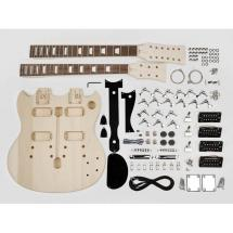 Boston KIT-DN-10 Baupaket für Gitarre SG-Style / Double Neck